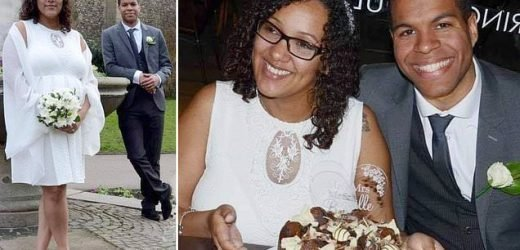 Thrifty bride reveals how she tied the knot in a £10 ASOS dress
