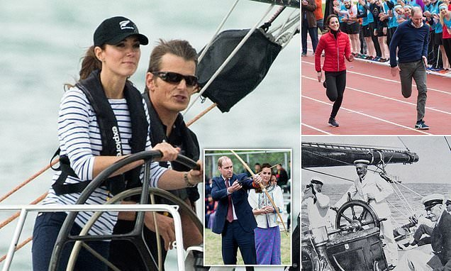 Duke and Duchess of Cambridge to go head-to-head in yacht race
