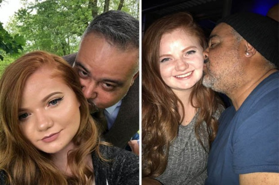 Woman, 21, dating 48-year-old boyfriend who is often mistaken for her 'sugar daddy'