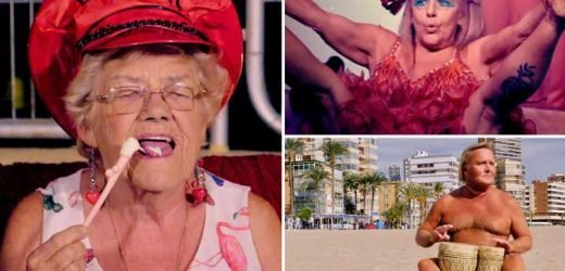 Meet the British OAPs growing old disgracefully with bargain booze and a passion for partying – The Sun
