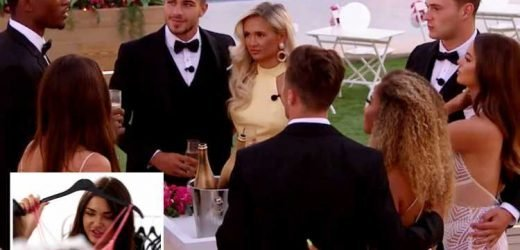 Love Island girls go dress shopping for the final as the boys write declarations of love in first look at tonight's final
