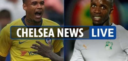 10pm Chelsea transfer news LIVE: Reading win, Everton want Zaha, Kenedy eyes Blues stay – The Sun
