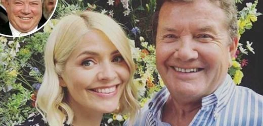 Holly Willoughby shares rare pic of her dad to celebrate his birthday – and fans say he looks like Hollywood actor William Shatner