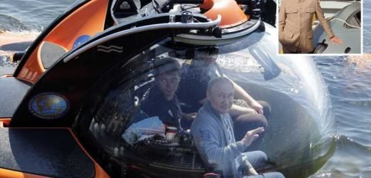Vladimir Putin pulls off Bond villain impression as he plunges to the bottom of the sea in mini-submarine mission – The Sun