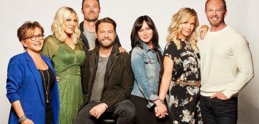 'Beverly Hills 90210' Cast Shares Wild 'Throwback' Picture: Or Is It?