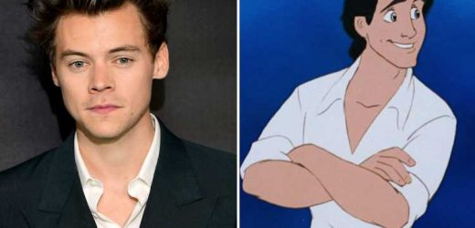 Harry Styles in talks to play Prince Eric in The Little Mermaid for Disney's live-action remake