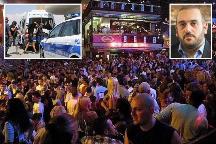 Ayia Napa mayor blasts drunk tourists for turning resort into an 'open-air club' after 'gang-rape' of Brit women by 12 Israelis
