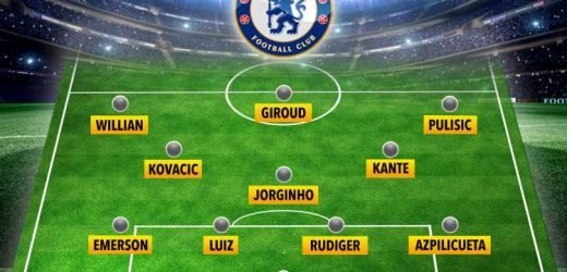 How Chelsea will line up under Lampard with new transfer Kovacic and Pulisic replacing Hazard – The Sun