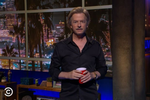 'Lights Out With David Spade': Premiere's Opening Monologue (Video)