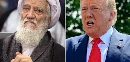 Iran cleric warns Trump it will turn the Gulf into a 'sea of blood' littered with US corpses amid fears fiery rhetoric could see rivals stumble into war