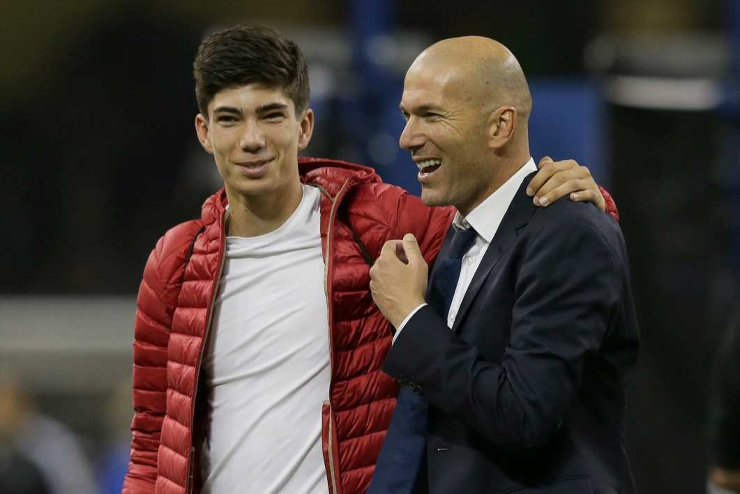 Zinedine Zidane's son Luca desperate to prove himself after leaving Real Madrid for Racing Santander loan transfer – The Sun