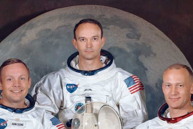 Who is Michael Collins and did the Apollo 11 astronaut walk on the moon?