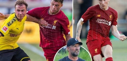 Klopp 'learned nothing' from Liverpool's pre-season defeat to Dortmund despite goals for youngsters Wilson and Brewster – The Sun