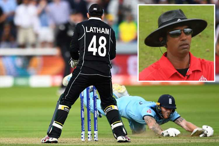 England should NOT have won Cricket World Cup as umpire Kumar Dharmasena admits he was wrong to hand out extra run – The Sun