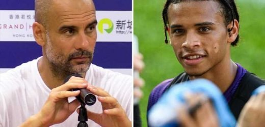 Guardiola admits Leroy Sane future is 'out of his hands' as Bayern line up £90m transfer bid for Man City winger – The Sun