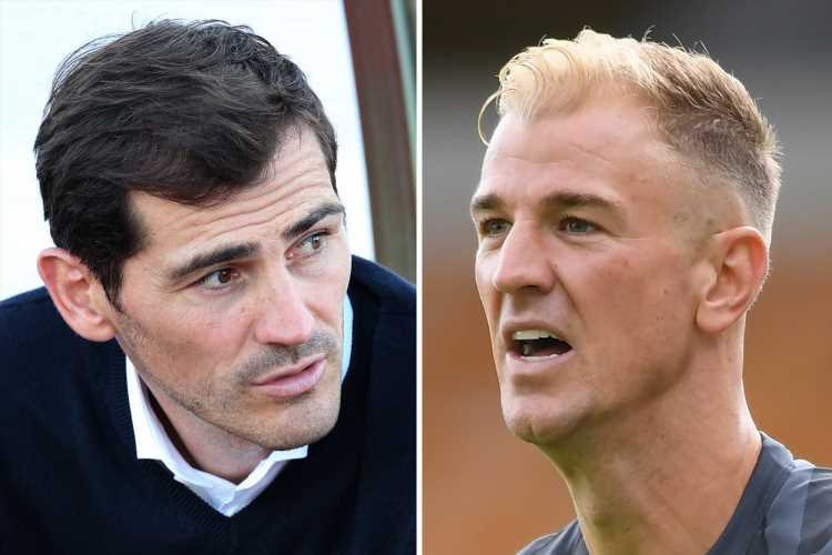 Joe Hart shock candidate to replace Iker Casillas at Porto after falling down Burnley pecking order – The Sun