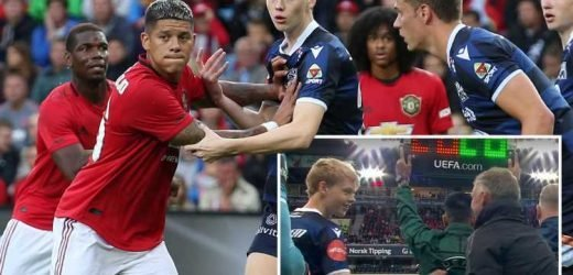Solskjaer congratulates son Noah as he makes professional debut vs Man Utd for Kristiansund – The Sun