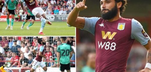 Wesley and Jota get two each as Villa's new boys run riot at Walsall after £107m transfer binge – The Sun