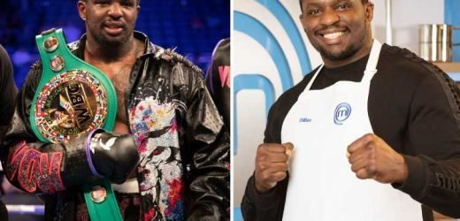 Dillian Whyte will still appear in upcoming series of Celebrity Masterchef despite 'failing drug test' – The Sun