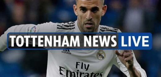 4pm Tottenham transfer news LIVE: Ceballos LATEST, Dani Alves interest, Eriksen wanted at Man Utd