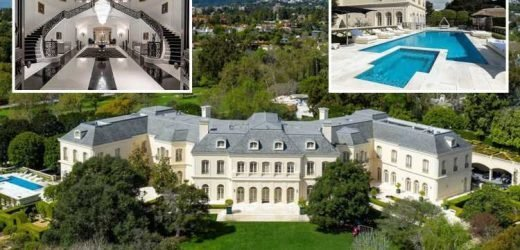 Petra Ecclestone sells largest LA 'Candyland' mansion for record £95m with 123 rooms, bowling alley and nightclub – The Sun