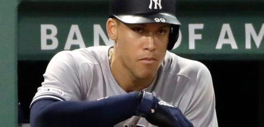 Aaron Judge's struggles at Fenway Park reach a new low