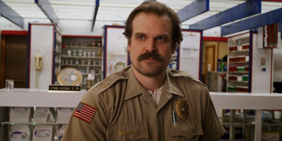 "This Is Why David Harbour Thinks His 'Stranger Things 'Character Is ""Very Killable"""