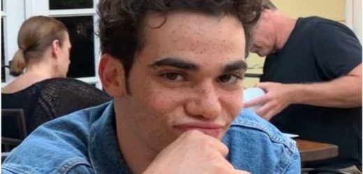 Disney star Cameron Boyce's heartbroken dad releases tragic photo of actor son, 20, just hours before his sudden death