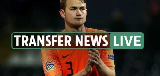 9.40pm transfer news LIVE: De Ligt Juventus medical on Wednesday, Everton sign Delph, Coutinho two-year Liverpool loan – The Sun