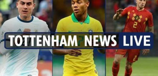5.30pm Tottenham transfer news LIVE: Dybala says yes, David Neres £54m interest, Alderweireld to be offered new deal – The Sun