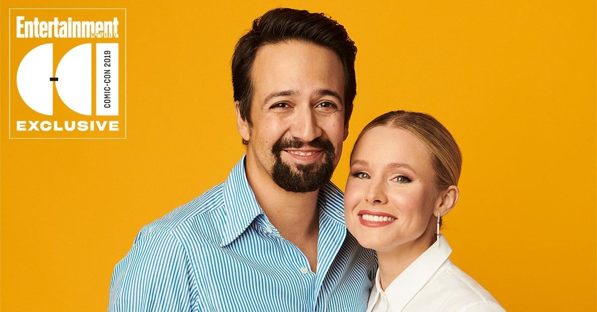 Kristen Bell freaks out meeting Lin-Manuel Miranda at Comic-Con