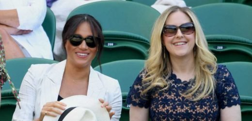 Meghan Markle Just Showed Up at Wimbledon with Two of Her Best Friends