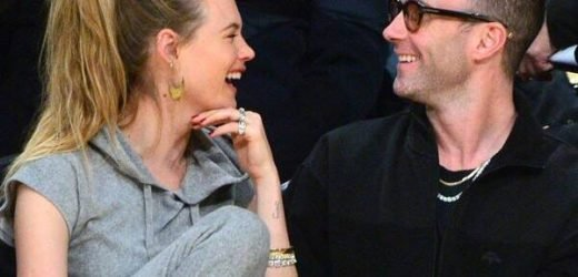 Adam Levine and Behati Prinsloo Return to Mexico for Their Anniversary