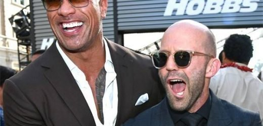 Hobbs & Shaw Cast Rave About Dwayne Johnson's Muscles
