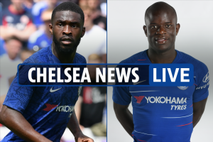 6pm Chelsea transfer news LIVE: Kante back in training, Fikayo Tomori to Everton, Barkley stunning free kick video – The Sun