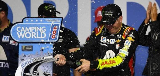 Alex Bowman captures first NASCAR Cup Series win in race at Chicagoland