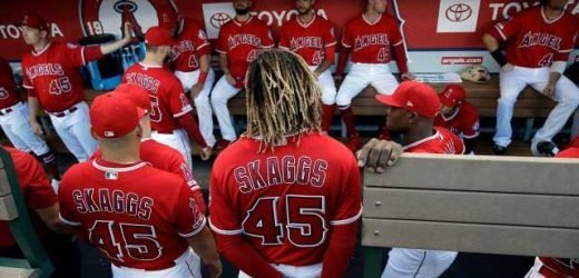 Angels pitchers combine for no-hitter on night honoring Tyler Skaggs