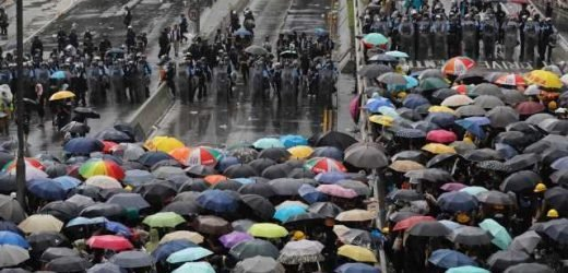 China says Hong Kong protesters' storming of government building 'totally intolerable'