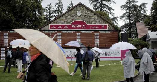 After a Struggle With Bad Weather, the Evian Returns to Summer