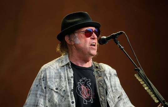 Neil Young at Nowlan Park: an honour to sit in the sun and witness keeper of the flame