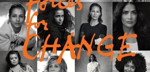 Who are the 15 cover stars in Meghan's issue of British Vogue?