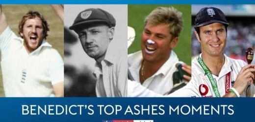 Top Ashes moments: Ian Botham routs Australia and Adam Gilchrist's quickfire Perth hundred