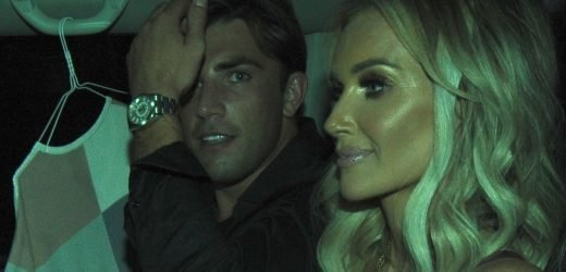 Jack Fincham and Laura Anderson leave Celebs Go Dating party together