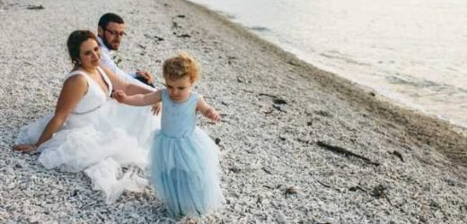 Boy, 2, wears dress on mum's wedding day after refusing suit and kilt