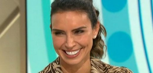 Lorraine's Christine Lampard admits she thought 'no one would notice' wardrobe blunder