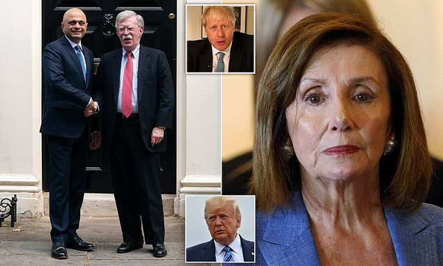 Pelosi threatens to BLOCK Brexit US-UK trade deal over Irish border