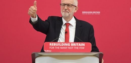 Jeremy Corbyn warns UK heading for 'political storm' over Brexit