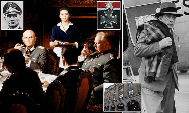 Nazi generals wined and dined at the Ritz to spill Hitler's plans