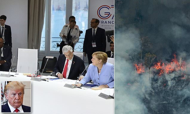 Trump skipped G7 climate session, thought meeting hadn't happened yet
