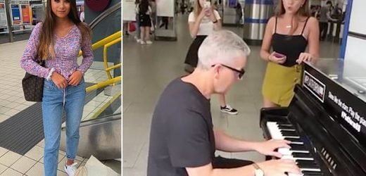 Teenager goes viral after singing opera in London Tube station
